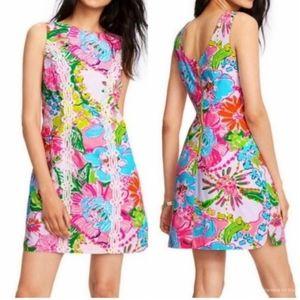 Lilly Pulitzer Sleeveless Sheath Style Mini Dress